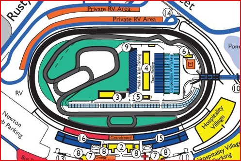 Iowa Speedway Road Course - The Formula Experience
